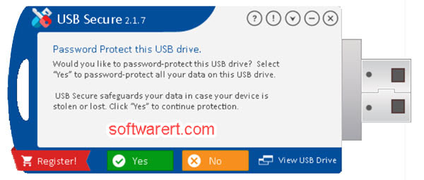 password protect usb drive using usb secure