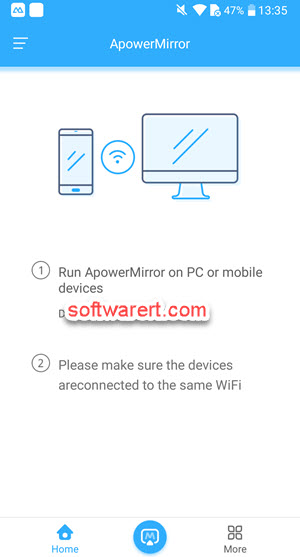 android phone mirror apower