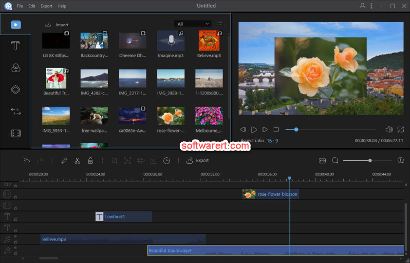 ApowerEdit Video Editor for Windows