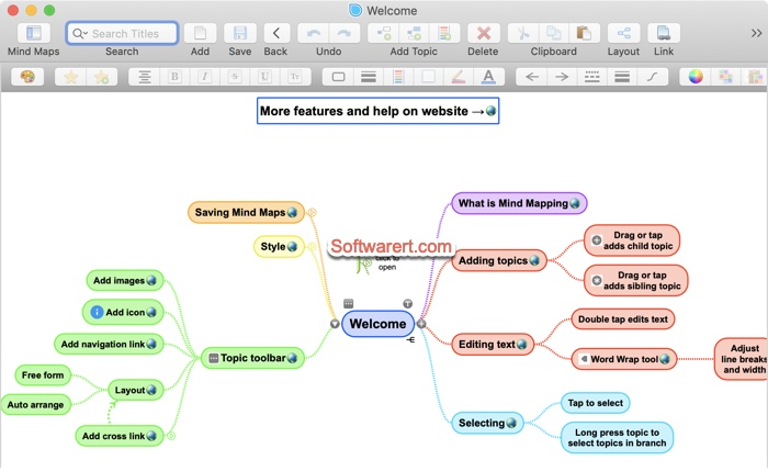 simplemind mind mapping app for mac