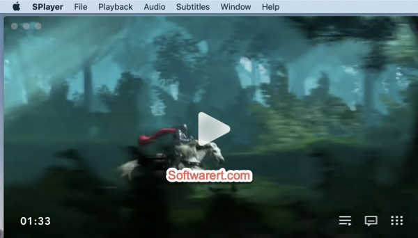 SPlayer media player for Mac
