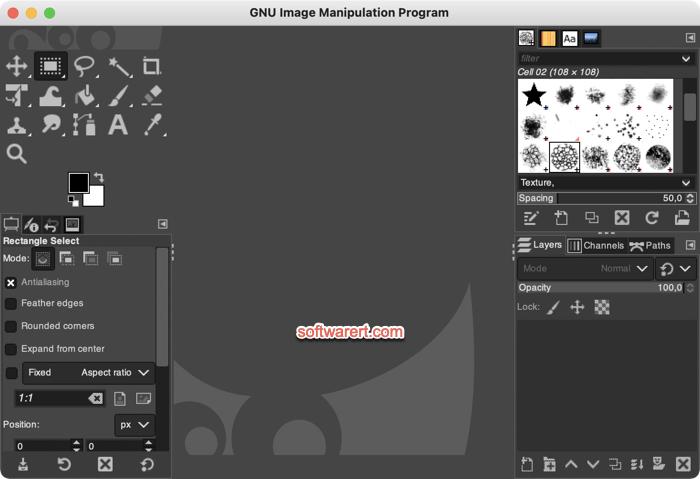 GNU Image Manipulation Program (GIMP) Mac