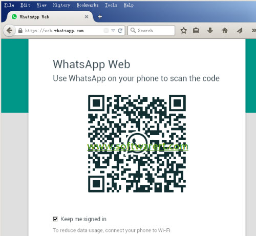 access whatsapp web from PC Mac computer