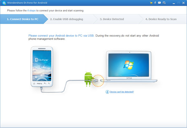android phone recovery software home
