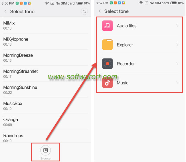 How to enable ringtone on Xiaomi phone?