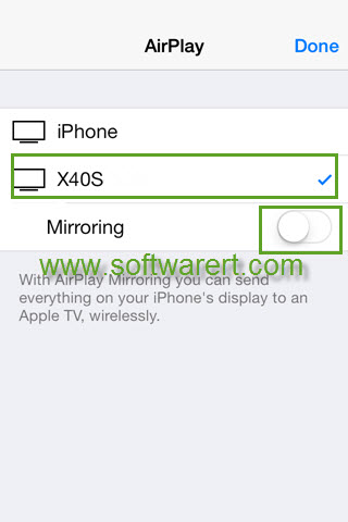 cast, mirror iphone to tv through airplay or airplay mirroring