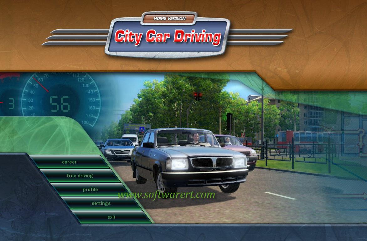 Configure City Car Driving 3D Instructor Settings for Logitech G29