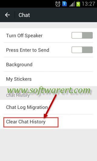 clear chatrooms How do i delete a chat room you can't delete a chat room you can leave it by leaving a chat room you will not receive any message from it anymore.