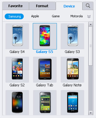 convert videos to samsung galaxy phone
