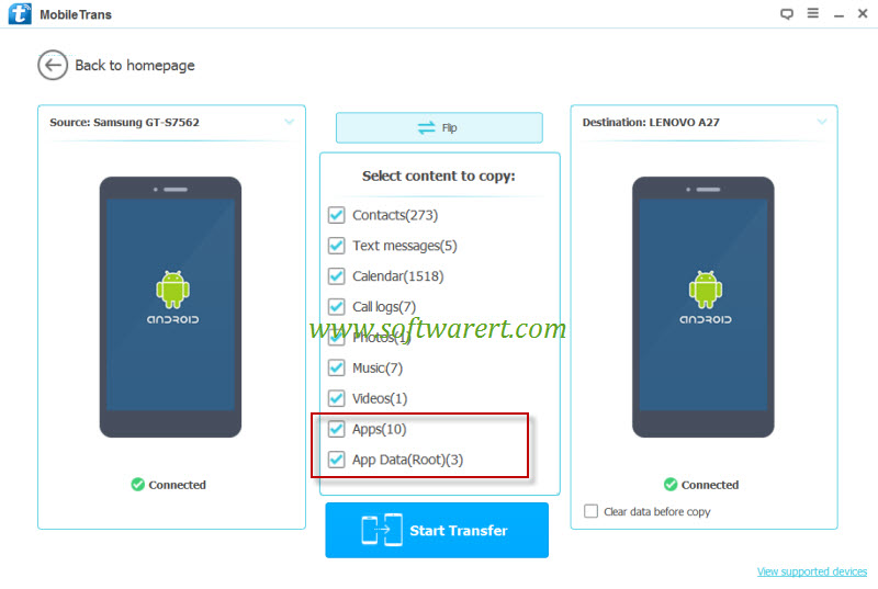 copy game data and app data from android to android mobile phone