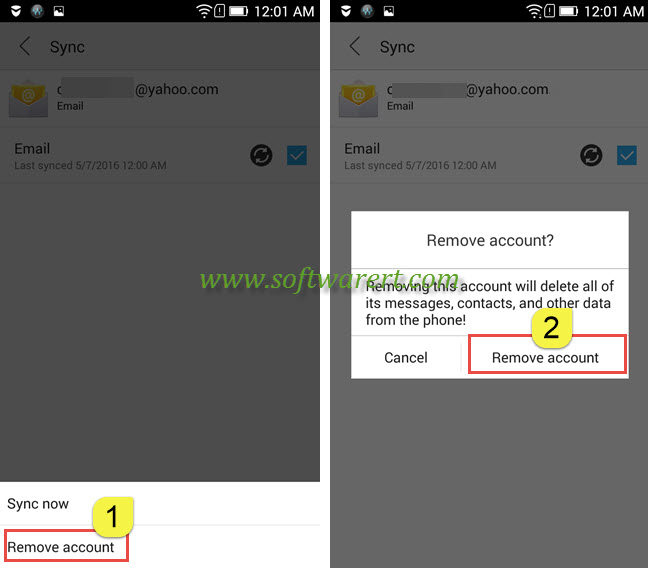 How to delete email from gmail mobile