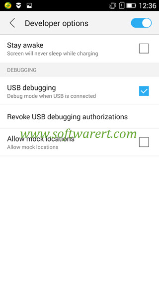 enable developer options and usb debugging on lenovo phone