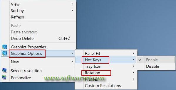 shortcut keys to rotate pdf