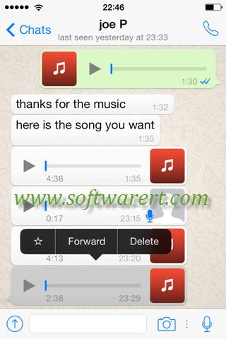 whatsapp audio geht nicht iphone