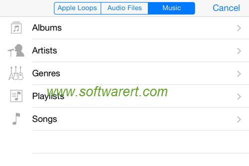 How to convert music to ringtones on iPhone using GarageBand?