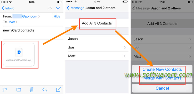 Import Vcard From Mac To Iphone Software Rt