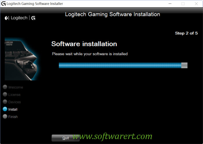 installing Logitech gaming software on pc