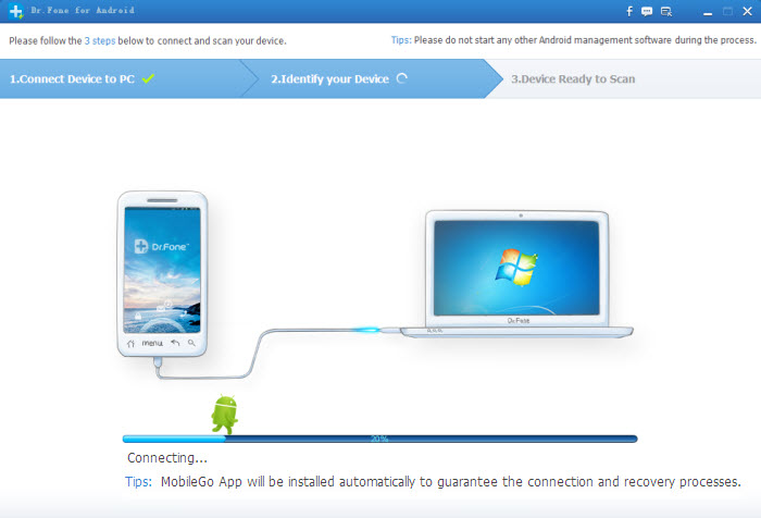 installing mobilego app to android mobile phone