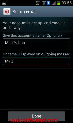 name yahoo email account Android