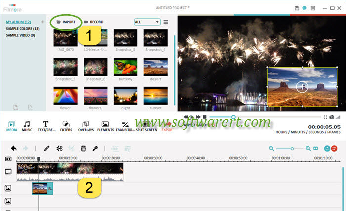 How to overlay photos and videos & create picture-in-picture