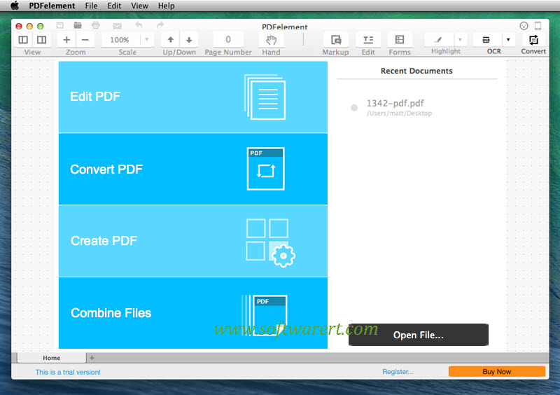 PDF editor pdf element for mac