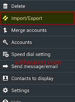 how to delete email contacts on samsung