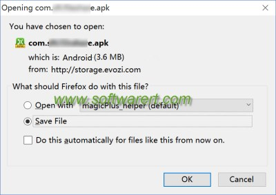 save google android app as apk file to computer