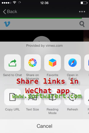 How to Share Links in WeChat Moments?