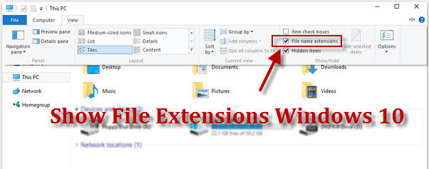 How to change file extension icon windows 10