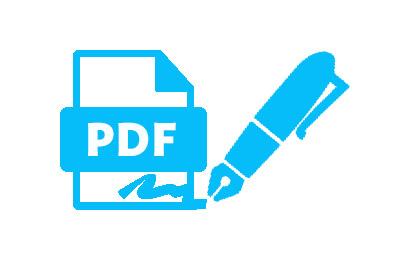 place digital signature on PDF files