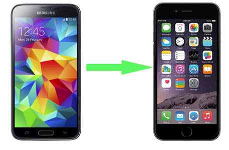 Transfer Contacts from Samsung Galaxy and Android phones to iPhone