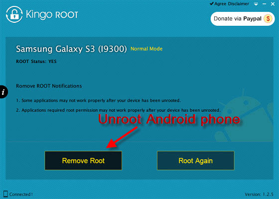How to Unroot Android Phones?