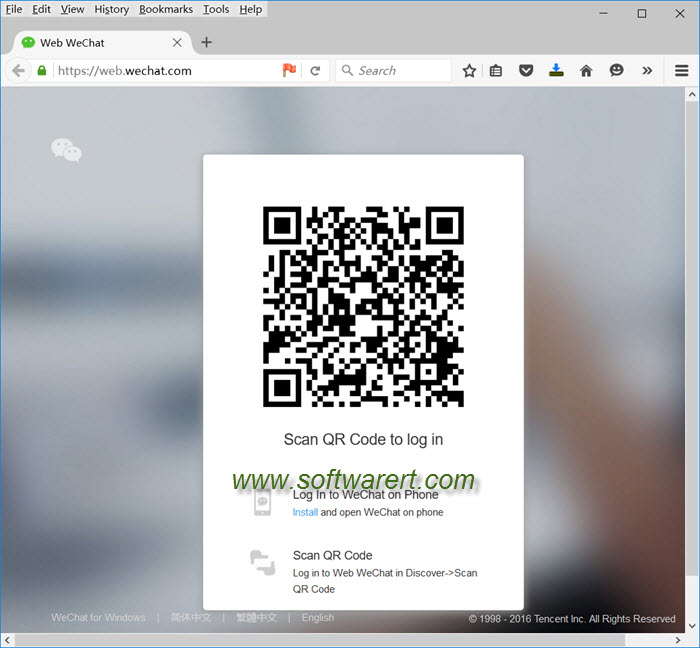 use wechat for web on computer