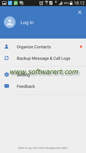 wesync organize contacts on android