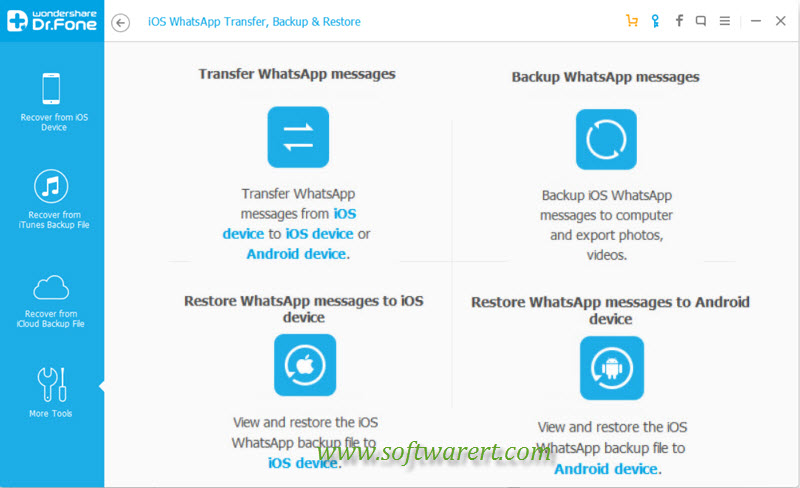 free software to transfer whatsapp messages from android to iphone