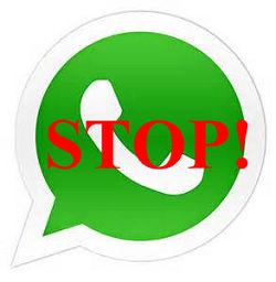 whatspp stop