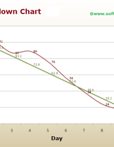 Scrum sprint burndown chart also  better for more accurate planning rh softwaretestingclass