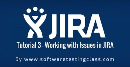 Working with issues in JIRA