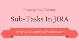 Sub-tasks in JIRA