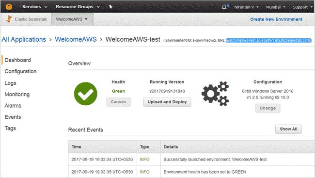 AWS Elastic Beanstalk Tutorial for Deploying .NET Web
