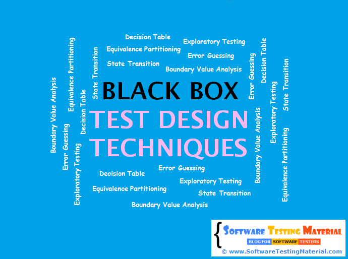 Black Box Test Design Techniques