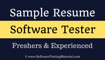 automation testing resumes experience create resume sample qa tester resume qa software tester - Software Tester Resume Sample