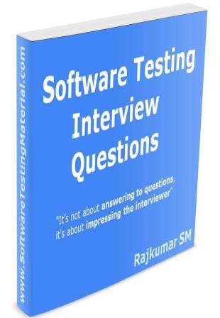 Software Testing Interview Questions Free eBook