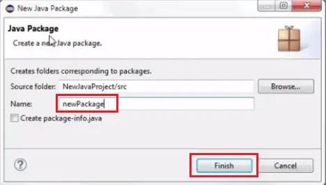 Install Selenium WebDriver - Create Package