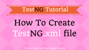 How To Create TestNG XML File And Execute TestNG.XML File