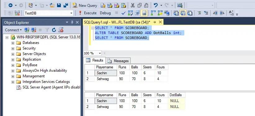 SQL Alert