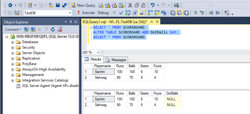 Sql alter sql tutorial software testing material - Alter table sql server example ...