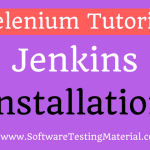 How To Download And Install Jenkins | Software Testing Material