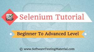Selenium Tutorial – Best Free Selenium Training Tutorial | Beginner To Advanced Level