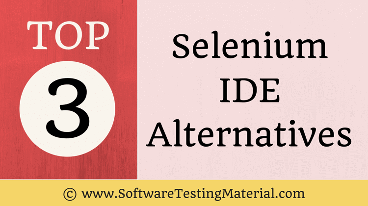 Selenkium IDE Alternatives